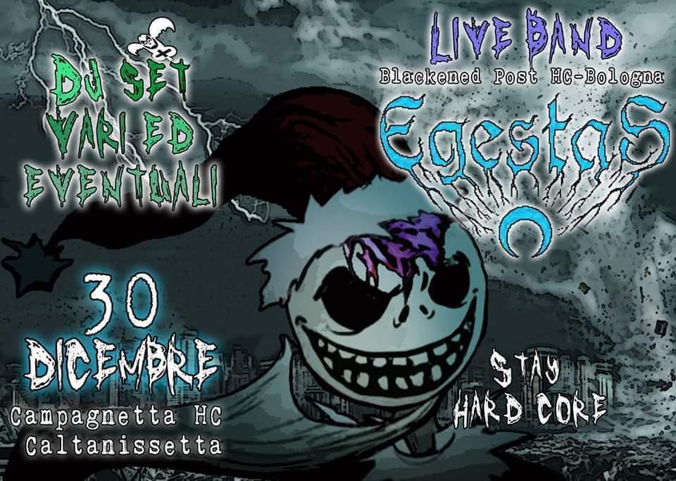 Last minute Hardcore @ Egestas a Caltanissetta