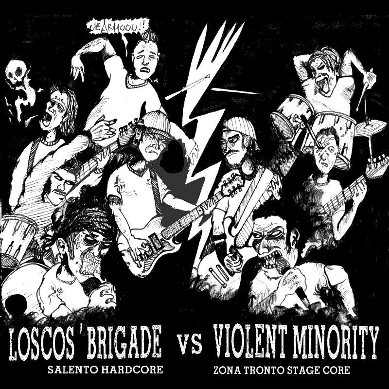 Loscos Brigade / Violent MinoritySplit – '7
