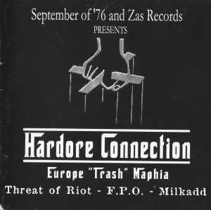 THREAT OF RIOT – MILKADD – xFPOxHardcore Connection – CD SPLIT