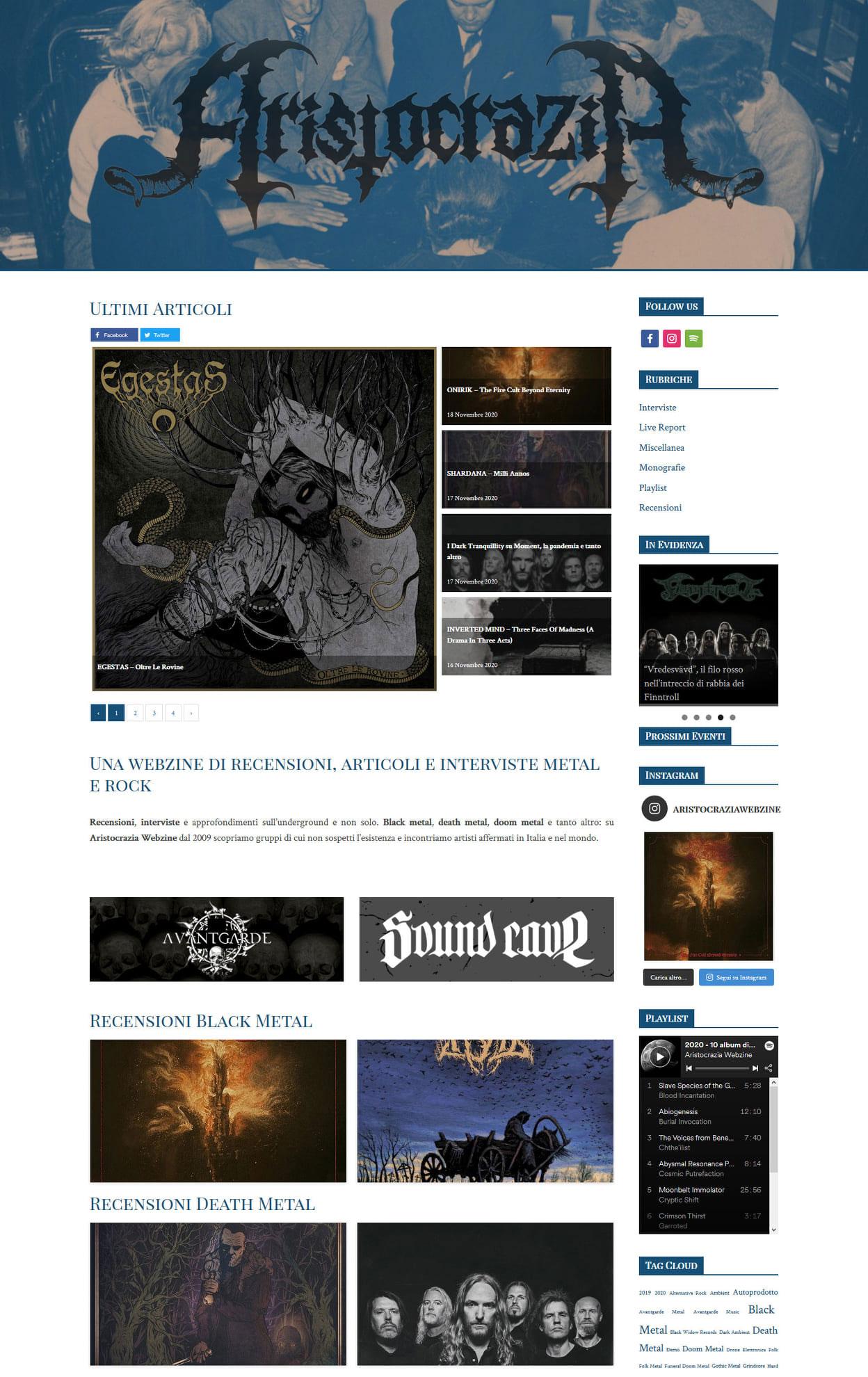 Aristocrazia Webzine: recensione di 'Oltre le rovine' degli Egestas