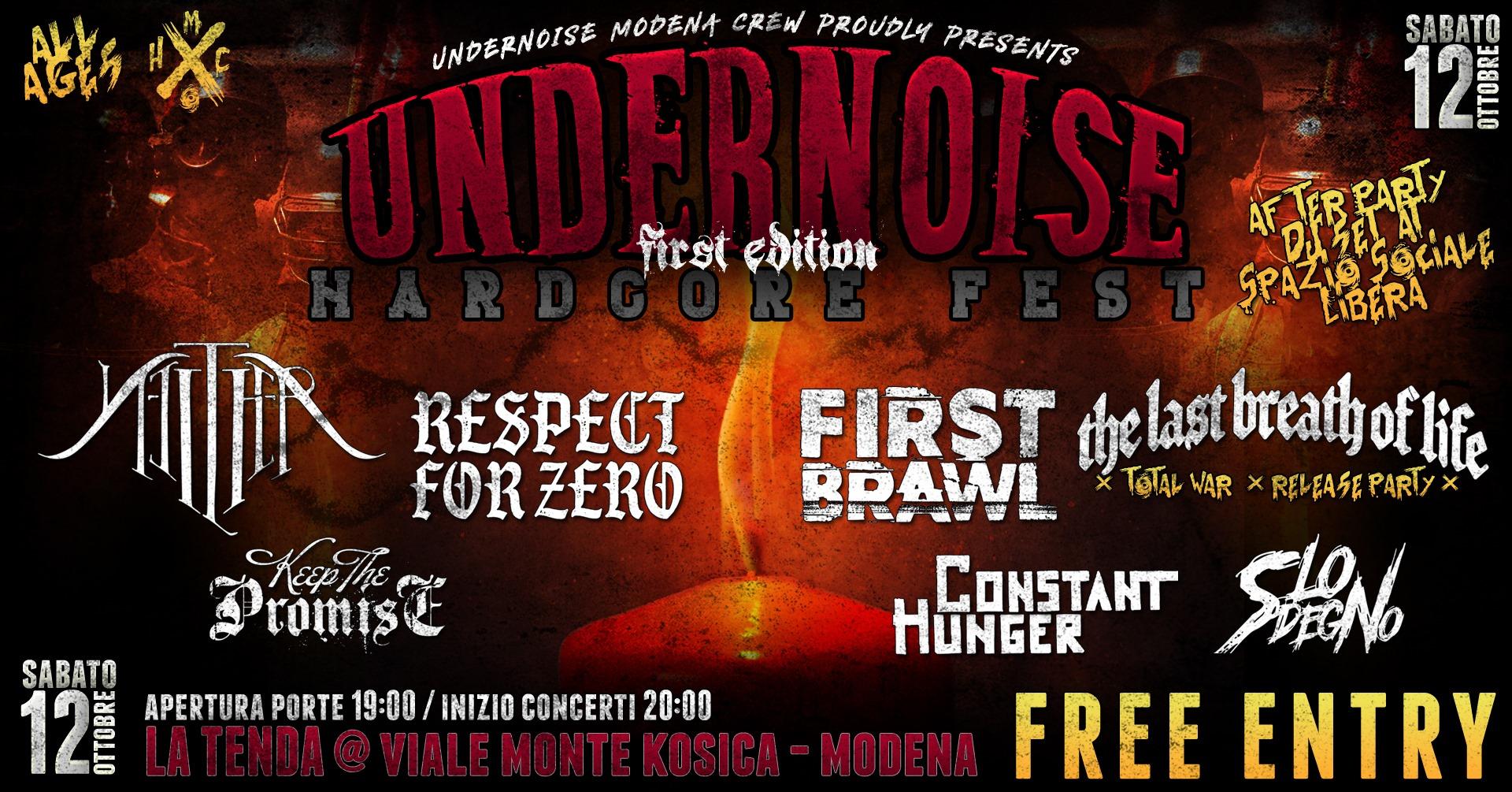 Undernoise Hardcore Fest #1
